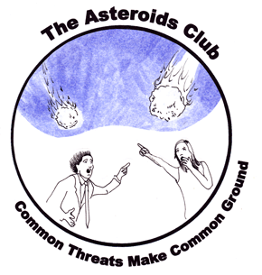 Asteroids Club Round Logo